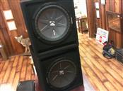 KICKER Car Speakers/Speaker System COMP 10 SET OF 2